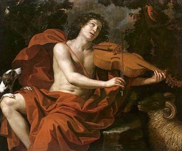 orpheusplaying his lyre (Gennari Benedetto I).jpg